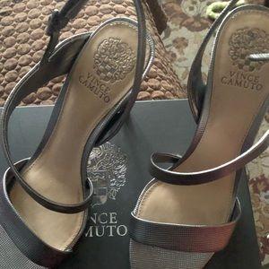 FInal PRICE!! Vince Camuto dark gunmetal heels